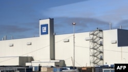 GM's St. Petersburg plant