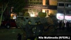 Беспорядки в Каире в преддверии годовщины революции, 23 января 2015 года