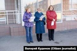 Участники голодовки врачей в Ижевске