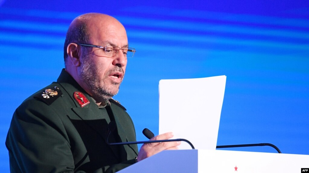 Iranian Defense Minister Hossein Dehghan (file photo)