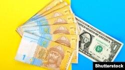 Украина валютасы. (Көрнекі сурет).