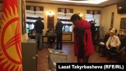 Избирательный участок в Москве. 15 октября 2017 года.