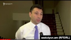 Вице-спикер парламента Армении, пресс-секретарь РПА Эдуард Шармазанов, Ереван, 9 июня 2017 г.
