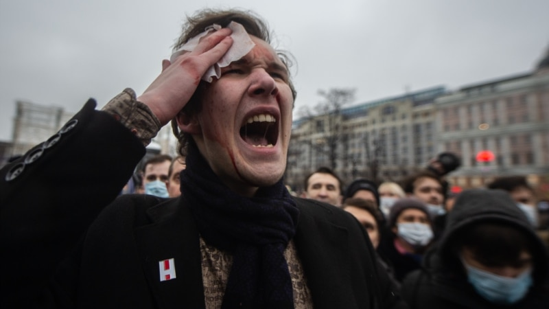 Anger Over Corruption And Navalny's Jailing May Be Redefining Russian Politics