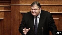 Грчкиот министер за финансии Евангелос Венизелос