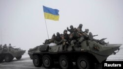 Forcat ukrainase në Luhansk, 28 janar 2015