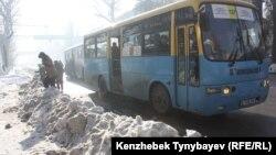 Алматы көшесі. 5 желтоқсан 2012 жыл