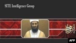 نمایی از تصویر بن لادن در نوار جدید ویدیویی انتشار یافته