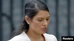Priti Patel, ministru de interne al Marii Britanii.