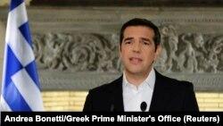Греция премьер-министры Алексис Ципрас