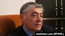 Geldimyrat Nurmuhammedow, ozalky medeniýet we turizm ministri, 8-nji dekabr, 2011.