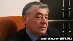 Туркманистон собиқ маданият ва спорт ишлари вазири Гелдимурод Нурмуҳаммедов.