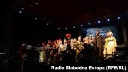 """Архивска фотографија - Македонскиот театарски фестивал """"Војдан Чернодрински"""" одбележува 50 години постоење."""
