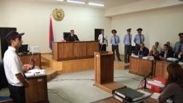 Armenia -- Trial of men accused of beating to death Vahe Avetian, 30Nov2012