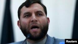 Ауғанстан тәуелсіз сайлау комиссиясы жетекшісі Зия-ул-Хак Амархаиль. Кабул, 23 маусым 2014 жыл.