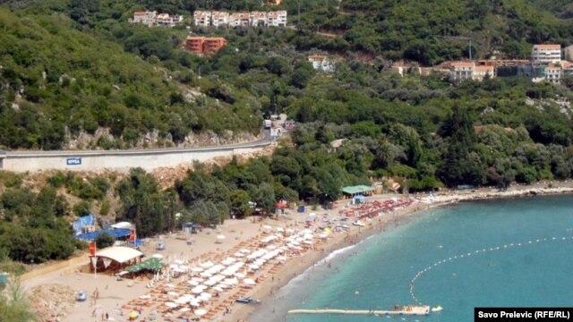 Jedna od plaža u Crnoj Gori