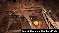 Тупик, которым заканчивается один из тоннелей. Красноярск.