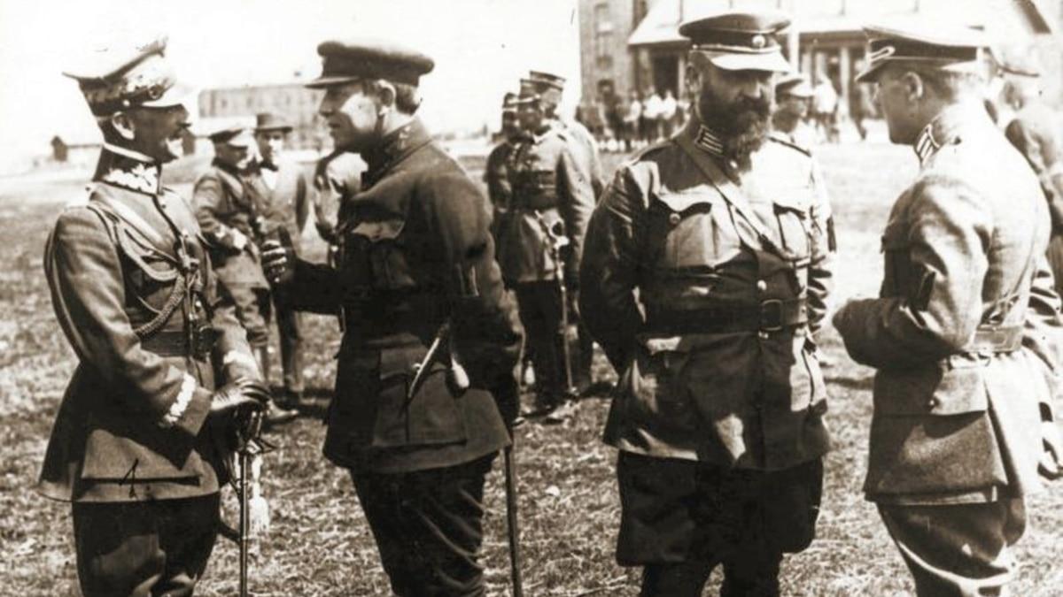 100 лет назад был заключен военный союз Украины и Польши против большевистской России