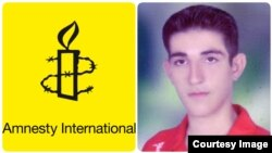امیر امراللهی، نوجوانی که در سن ۱۶ سالگی متهم به قتل شده است.