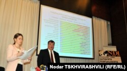 """NDI-ის გამოკითხვის - """"საზოგადოების განწყობა საქართველოში"""" - პრეზენტაცია. 2012 წლის 21 მარტი"""