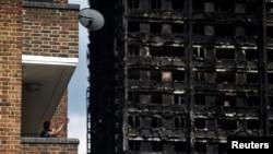Ostatak zgrade Grenfel tauer posle požara
