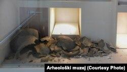 U Arheološkom muzeju najviše je stradao stalni postav