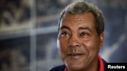 Кубаның атақты боксшысы Теофилио Стивенсон.