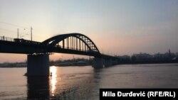Most sa privremenim prebivalištem