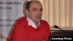 Зоран Илиески, извршен директор на Коалицијата на младинските организации СЕГА.
