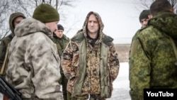 "Захар Прилепин с сепаратистами ""ДНР"""
