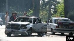 Подрыв машины в Сухуми. Абхазия, 21 сентября 2011 года.