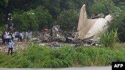 Հարավային Սուդանում վթարված բեռնատար ինքնաթիռի բեկորները, 4-ը նոյեմբերի, 2015թ․