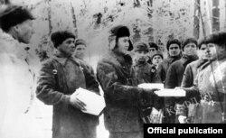 Sovet əsgərləri, 1942