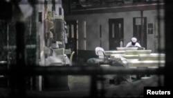 Гуантанамо түрмесінің 6-кэмпінен бір көрініс. 5 наурыз 2013 жыл