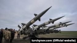 Обучение по стрельбе из зенитно-ракетных комплексов, Херсонская область 2 ноября 2018 года