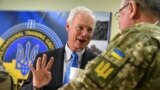 U.S. Senator Ron Johnson (Republican-Wisconsin) visited the International Peacekeeping and Security Center near Lviv on December 8. Johnson introduced a resolution in the Senate condemning Moscow's actions in the Sea of Azov.