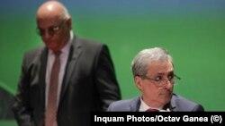 Șeful DSU, Raed Arafat, și ministrul de Interne, Marcel Vela
