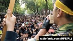 معترضان منتقدانی نیز دارند و در عین حال بسیاری در مورد آینده اقتصادی تایوان در صورت آسانتر نشدن سازوکارهای اقتصادی و اداری دو طرف ابراز نگرانی کردهاند