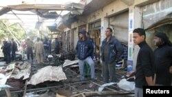من تفجير شهدته الحلة في يوم 29/11/2012