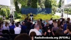 Петро Порошенко під час прес-конференції, архівне фото