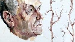 Данте в сквере оголённых деревьев