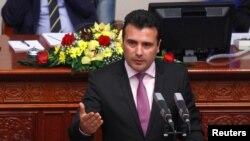 Македониянын жаңы премьер-министри Зоран Заев.