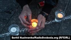 Акция памяти в годовщину депортации крымскотатарского народа. Киев, 18 мая 2017 года
