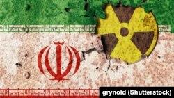 Иллюстрация на тему иранской ядерной программы.