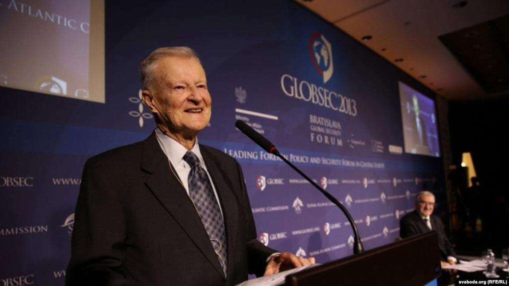 Zbigniew Brzezinski in 2013
