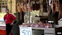 Важно, чтобы звенело. Мясная лавка в Стамбуле