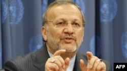 آقای متکی برای شرکت در یک اجلاس بین المللی در مقر سازمان ملل به نیویورک رفته است. (عکس: AFP)