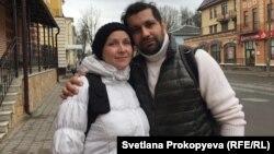 Анвар Зуфаров и Анна Перова