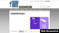 Freedom House ташкилотига кўра, 28 миллион аҳолиси бор Ўзбекистон эркин эмас.