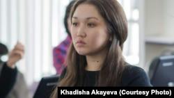 Хадиша Акаева, журналист из Семея.